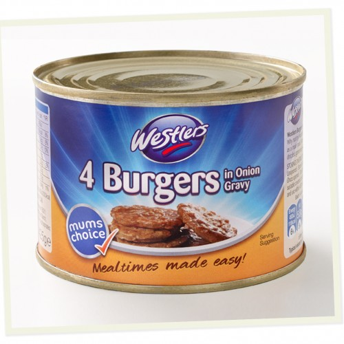 Westlers 4 Burgers in Onion Gravyy